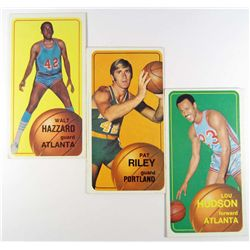 LOT OF 3 1970-71 TOPPS BASKETBALL CARDS