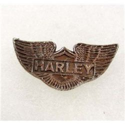 MINI HARLEY DAVIDSON WINGS LOGO PIN BADGE