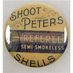 PETERS SHELLS & CARTRIDGES ADVERTISING POCKET MIRROR