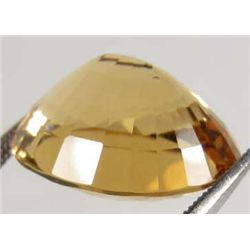 26.89 CT. AAA GOLDEN YELLOW BRAZIL CITRINE - OVAL SHAPE