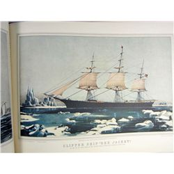 "1952 ""CURRIER AND IVES AMERICA"" HARDCOVER BOOK"