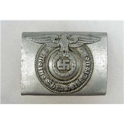 GERMAN NAZI WAFFEN SS ENLISTED MANS BELT BUCKLE