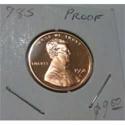 1998-S *HARD TO FIND* LINCOLN CENT RED BOOK VALUE IS $10.00 *EXTREMELY RARE PROOF HIGH GRADE*!!