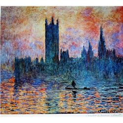 Limited Edition Monet- House of Parliment - Collection Domaine Monet
