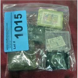 Bag of collectors stamps and assorted items
