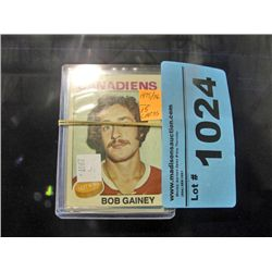 6 NHL sports trading cards
