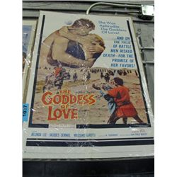 One vintage movie advertisment poster