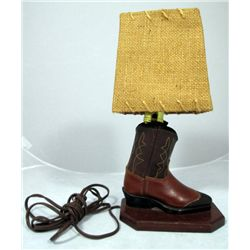 Decorative Boot Lamp
