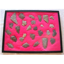 27 - Vintage Native American Indian Arrowheads