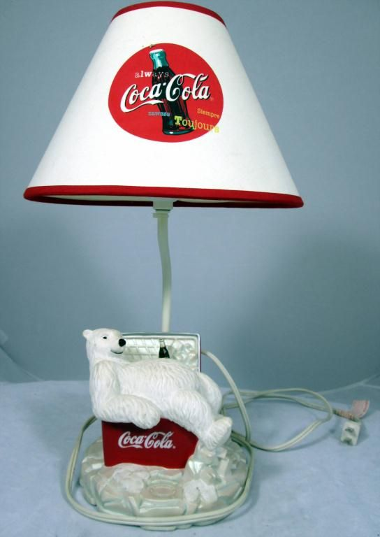 Coca Cola Christmas Lamp Amp Tray