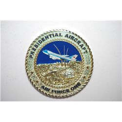 Presidential Aircraft-Air Force One Military Coin; Air Force Sergeants Association-MCMLXI; EST. $10-