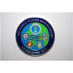 Air Force Senior NCO Academy Established 1972 Military Coin; EST. $10-20