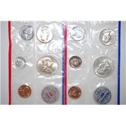 1962 US Mint Coin Set; P&D Mints; UNC; EST. $50-60