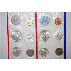 1961 US Mint Coin Set; P&D Mints; UNC; EST. $50-60