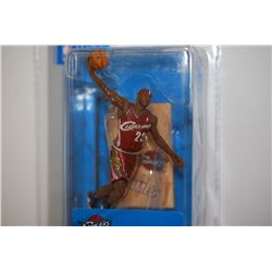 2005 McFarlane Toys LeBron James Cleveland Cavaliers Figurine; 2nd Edition; EST. $10-20