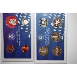 1999-S US Mint Proof Set With State Quarter Proof Set; EST. $10-15