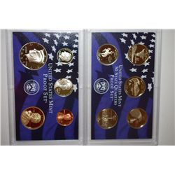 2007-S US Mint Proof Set With State Quarter Proof Set; EST. $15-20