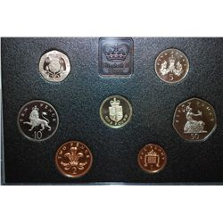 1988 United Kingdom Mint Proof Coin Collection; EST. $10-20