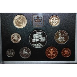 1996 United Kingdom Mint Proof Coin Collection; EST. $10-20