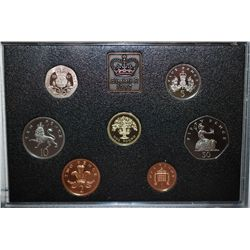 1987 United Kingdom Mint Proof Coin Collection; EST. $10-20