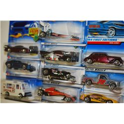 Mattel Hot Wheels Inc.; Various Dates, Makes & Models; Lot of 10; EST. $15-25