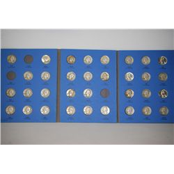 Washington Quarter Coin Folder; Collection 1946 to 1959 Number Two; INCOMPLETE; Lot of 33; EST. $175