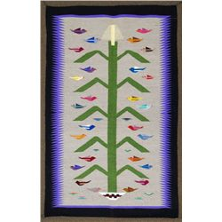 Navajo Multi-Color Tree of Life Rug - Glorilene Harrison