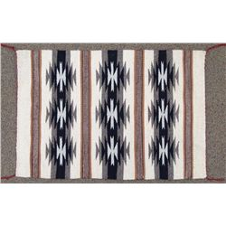 Navajo Black & Tan Crystal Rug - Alyssa Harrison