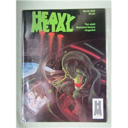 Heavy Metal Modern Age Adult Illustrated Fantasy Magazine