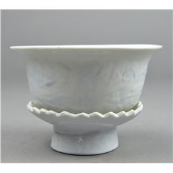 Chinese Porcelain Revolving Stem Cup