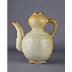 Chinese Song/Ming-Style Double Gourd Ewer