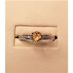 Ladies Beautiful Citrine Ring