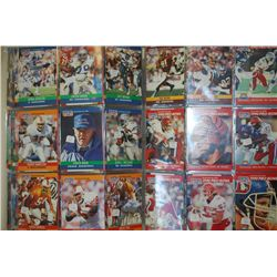 NFL Football Trading Cards; Various Dates, Players & Teams; Approximately 200+ Cards; EST. $10-20