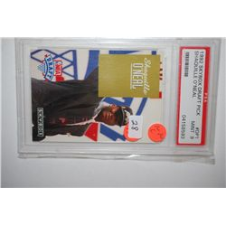 1992 SkyBox Draft Pick Shaquille O'Neal Orlando Majic Basketball Trading Card; PSA Authenticated Min
