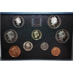 1992 United Kingdom Proof Foreign Coin Collection; EST. $20-30