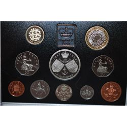 1997 United Kingdom Proof Foreign Coin Collection; EST. $10-20