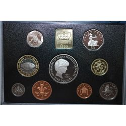 1999 United Kingdom Proof Foreign Coin Collection; EST. $20-30