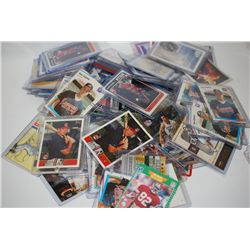NBA, MLB, Etc. Player Trading Cards; Various Dates, Teams & Players; Lot of 100; EST. $200-400