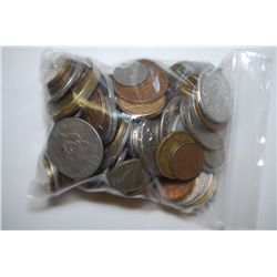 World Coins & Tokens; Various Dates, Denominations & Conditions; Lot of 100; EST. $15-25