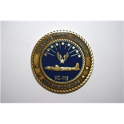 Presidential Aircraft Independence VC-118 Medal; Air Force Sergeants Assoc.; EST. $5-10