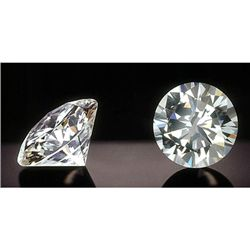 EGL Certified Diamond Round 0.50 ctw H,VS1