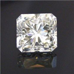 GIA 0.73 ctw Certified Radiant Diamond E,VS2