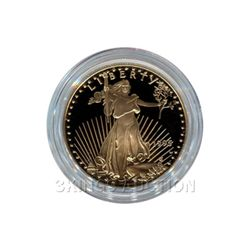 Proof American Gold Eagle One Tenth Ounce 1990