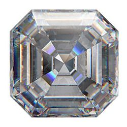 GIA 1.00ctw Certified Asscher Brilliant Diamond D,VVS1