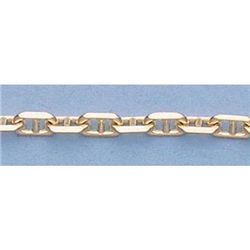 "Pure Gold 16"" 14k Gold-Yellow 2.7mm Anchor Chain 9g"