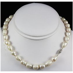 199.33ctw Freshwater Pearl Necklace w/ 14KWG Clasp