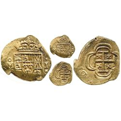 Mexico City, Mexico, cob 1 escudo, (1714J), from the 1715 Fleet.