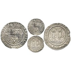 "Mexico City, Mexico, 1 real, Charles-Joanna, ""Late Series,"" assayer A to right, mintmark M to left,"