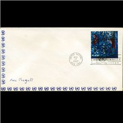 1967 UN First Day Postal Cover (STM-2624)