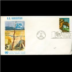 1966 UN First Day Postal Cover (STM-2581)